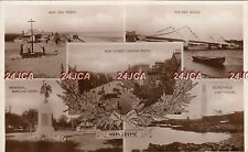 Scottish Multi view Real Photo. Montrose.Angus. High St. Sea Front.  c 1930s