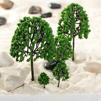 11X 1:50 O Scale Assorted Trees Model Train Garden Park Scenery Layout Diorama