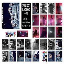 2017 New 30pcs/set Kpop Monsta X Collective Poster Photo Card Lomo Card