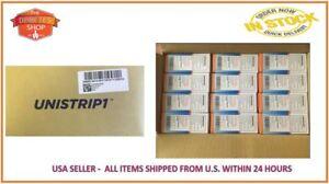 UNISTRIP TEST STRIPS FACTORY CASE 24 BOXES (1200 STRIPS) EXP 07/2021 FREE S&H