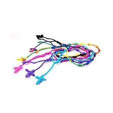 12pcs Handmade Rosary Cross Decenarios Bracelets, in USA, Free Shipping - DB10