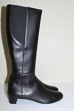 AGL  sz 10 US / 40 Attilio Giusti Leombruni Black Leather Tall Riding Boot Shoes