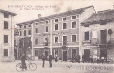 * TORREBELVICINO - Albergo alla Torre in Piazza Umberto I 1920