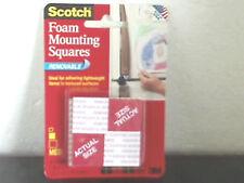 "Scotch Mounting Squares Medium 1"" x 1"" 4 Pack Per Order"