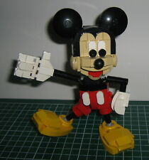 Lego MOC : Mickey Mouse (original Lego Steine) mit Instructions