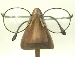 Vintage Marcolin Village 25(6310) 325 Tortoise Gold Oval Sunglasses FRAMES ONLY