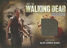 "Walking Dead Season 2 - M27 ""Daryl Dixon's Olive Green Jeans"" Wardrobe Card"