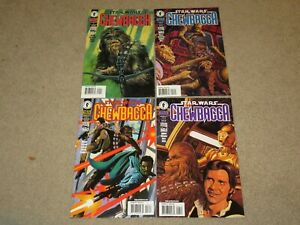 Star Wars Chewbacca #1-4 Lot Comic Book NM 9.4 Dark Horse 2000