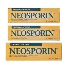 Neosporin Antibiotic Original First Aid Ointment Value Pack 3-Pack