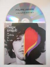 PHILIPPE UMINSKI : AU RYTHME DE LA VIE ♦ CD ALBUM PORT GRATUIT ♦