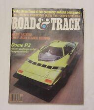 ROAD & TRACK,VOL.31,NO.1,SEPTEMBER 1979 DOME P-2 9248-1 [LOC.ELK] (BOX A) #4