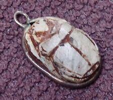 Antique Scarab Beetle Pendant