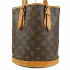 Auth LOUIS VUITTON M42238 Monogram Bucket PM Shoulder Bag France F/S 8119b