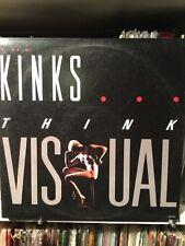 The Kinks - Think Visual. 1986 MCA Pressing W/ Custom Inner Sleeve NM