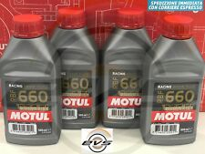 2 Litri Olio Freni Motul RBF 660 FL DOT4 Fluido Frizioni Idrauliche 100%Sintetic