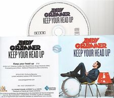 ANDY GRAMMER keep your head up CD PROMO french pochette papier papersleeve