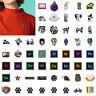 54 Styles Cartoon Brooches Badge Funny Enamel Collar Lapel Jacket Pins Kids Gift