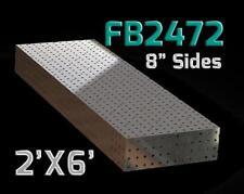 CertiFlat FB2472 2'X6' FabBlock Modular Welding Table Top Kit. Heavy-Duty. DYI
