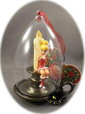Disneyland Paris - Christmas Ornament Tinkerbell - Light Up - Candle + Map