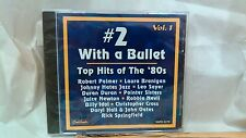 #2 With A Bullet Vol. 1 Top Hits Of The 80's 2001 EMI Capitol Music       cd2310