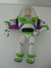 "TOY STORY  BUZZ LIGHTYEAR BLUE FLAMES 12"" TALKING ACTION FIGURE"
