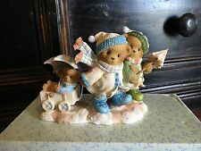 "SIGNED 2007 Cherished Teddies ""With Winter Upon Us, Love Keeps Us Warm"" #4008960"