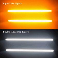 30cm Switchback Flowing Car DRL LED Knight Rider Signal Turn Brake Light Strips