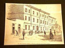 Stradella nel 1887 La casa di Agostino Depretis o De Pretis di Mezzana Corti