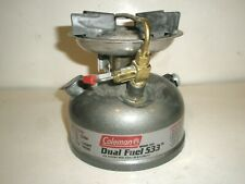 COLEMAN DUAL FUEL GAS STOVE CAMPING BACKPACKING MODEL 533