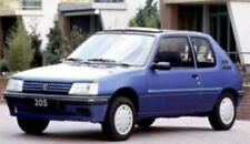 Minichamps 1:43 Peugeot 205 - 1990 - blue metallic