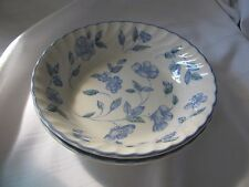 Royal Stafford Bristol Blue lot of 2 coupe cereal soup bowls England