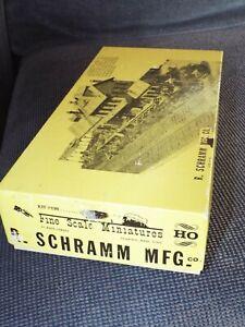 Fine Scale Miniatures R.SCHRAMM MFG Kit  FSM  New  iqy