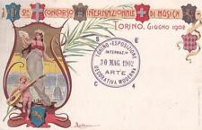 A6937Z) TORINO 1902, 2 CONCORSO INTERNAZIONALE DI MUSICA. VIAGGIATA.