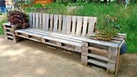 Europaletten EPAL  1. und 2. Wahl Holzpalette Holz Möbel Trend Garten Terrasse