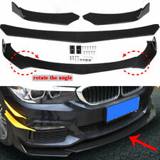 Universal Front Bumper Lip Body Kit Spoiler For BMW Audi Benz Honda Toyota GMC