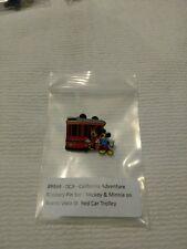 Dca pin 89864 disney CALIFORNIA ADVENTURE. Mickey & Minnie on beuna Vista trolly