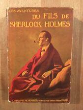 Le fils de Sherlock Holmes - Librairie Richonnier - 1914 - BE