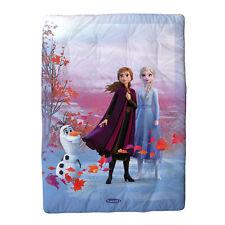 Caleffi Scaldotto Frozen Elsa Plaid Morbido e Imbottito 130x170
