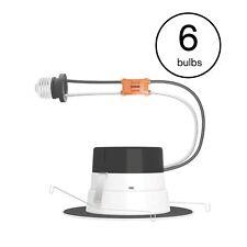 Philips LED Downlight Spotlight 65W Dimmable Soft White Light Bulbs (6 Bulbs)