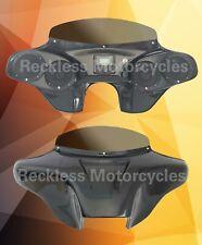 "Batwing Fairing Harley Davidson Road king 4x5.25"" + PMX1 Stereo"