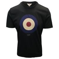 Ben Sherman Men's Black Target S/S T-Shirt (Retail $40)