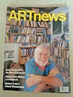 1986 ARTnews MAGAZINE Art News John Baldessari Robert Irwin Rodney A Greenblat