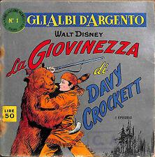 [044] GLI ALBI D'ARGENTO ed. Mondadori 1957 n.  1 stato Buono