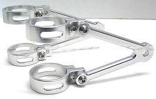 35mm Headlight Brackets Billet Aluminum Honda CB450 CB550 CB650 CB750 Café Racer