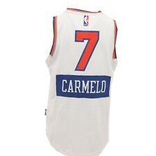 New York Knicks de la NBA Adidas Niños Jóvenes tamaño Carmelo Anthony Swingman Jersey Nuevo