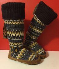 NEWT MUK LUKS Winona Safari SZ S US 5-6  Slippers Winter Boot Women Girls Boots