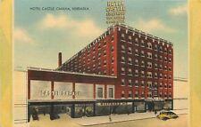 Omaha NE~Westward Ho~Art Deco Garage~Hotel Castle~1940s