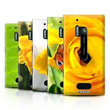 STUFF4 Back Case/Cover/Skin for Nokia Lumia 928/Floral Garden Flowers