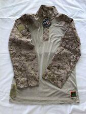 "NWT USMC FROG SHIRT DESERT DIGITAL DEFENDER ""M"" LARGE /REGULAR AUTHENTIC"