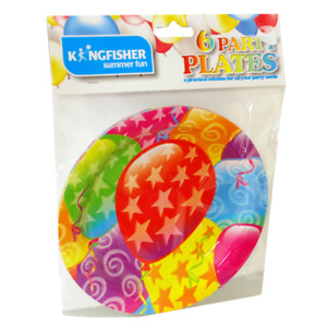 Disposable Party Tableware Birthday Celebration Cups Plates Balloons Napkins